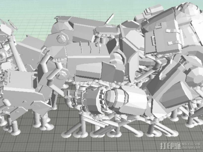 机械人泰坦 3D模型  图10