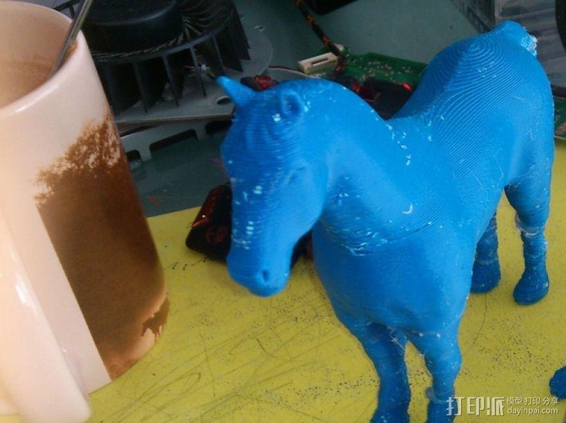 3D马模型 3D模型  图2