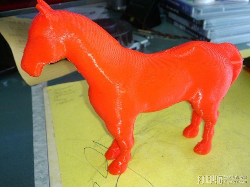 3D马模型 3D模型  图1