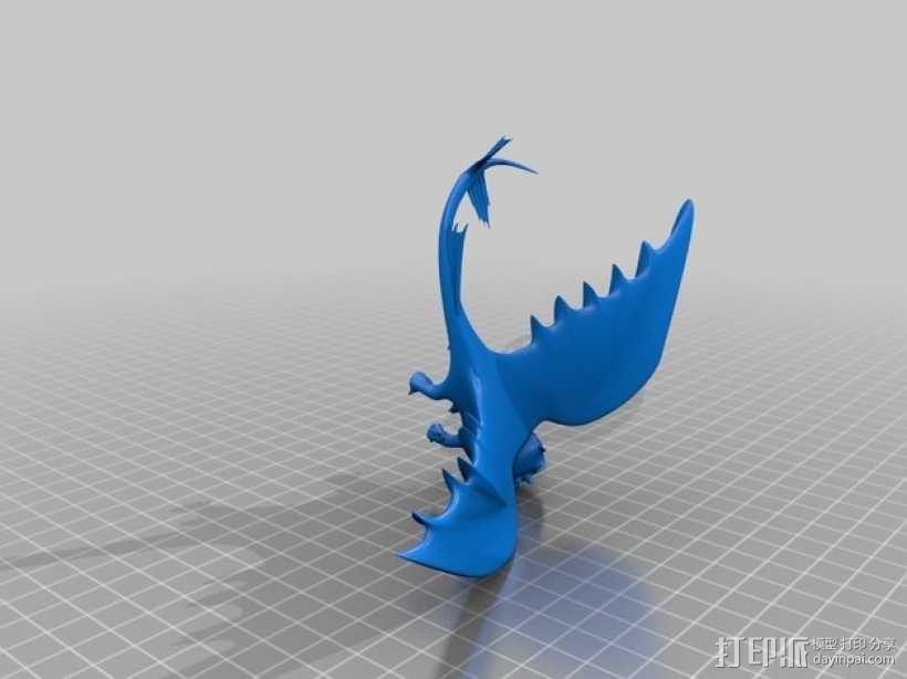 无牙夜煞模型 3D模型  图6