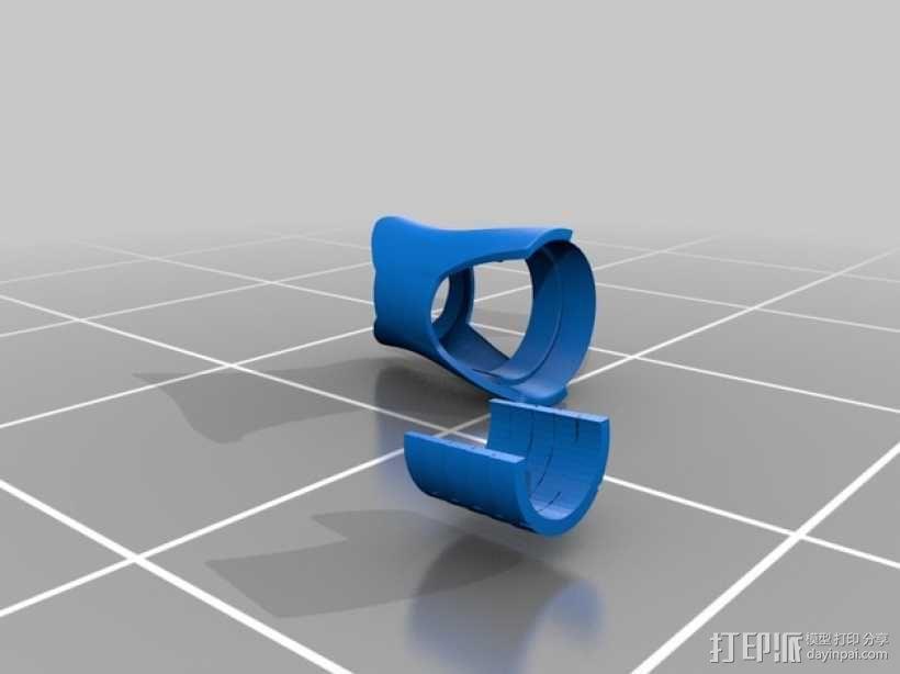 钢铁侠盔甲前臂 3D模型  图12