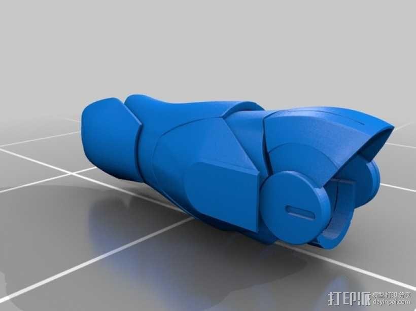 钢铁侠盔甲前臂 3D模型  图14