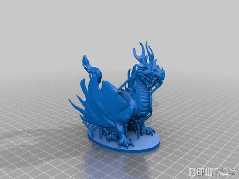 野火龙 3D模型  图3