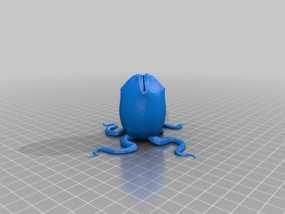 外星蛋 3D模型