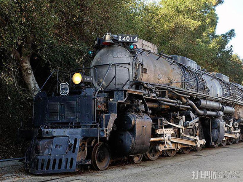 火车驱动轮 3D模型  图4
