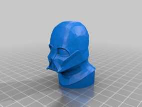 达斯维德半身像 3D模型