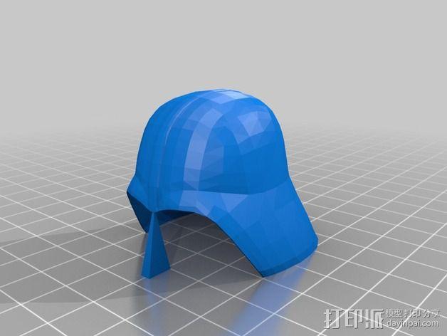 达斯维德半身像 3D模型  图2