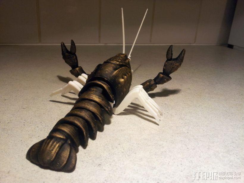 大龙虾 3D模型  图1