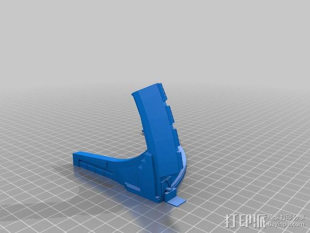 深空九号飞船 3D模型  图5