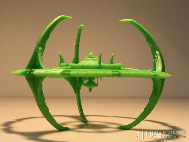 深空九号飞船 3D模型  图1