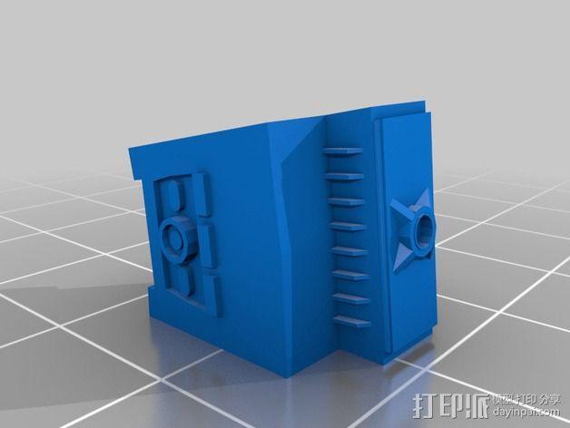 深空九号飞船 3D模型  图6