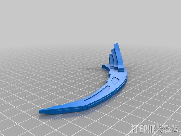 深空九号飞船 3D模型  图7