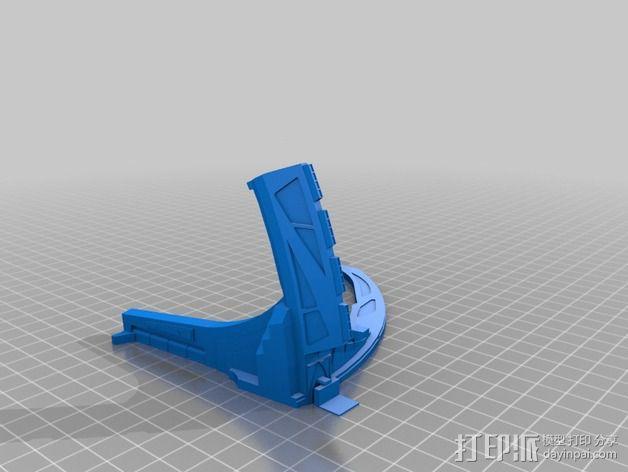 深空九号飞船 3D模型  图9