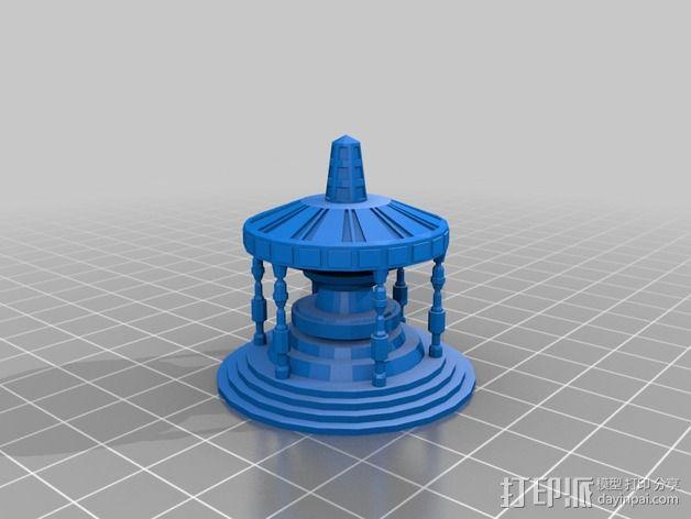 深空九号飞船 3D模型  图16