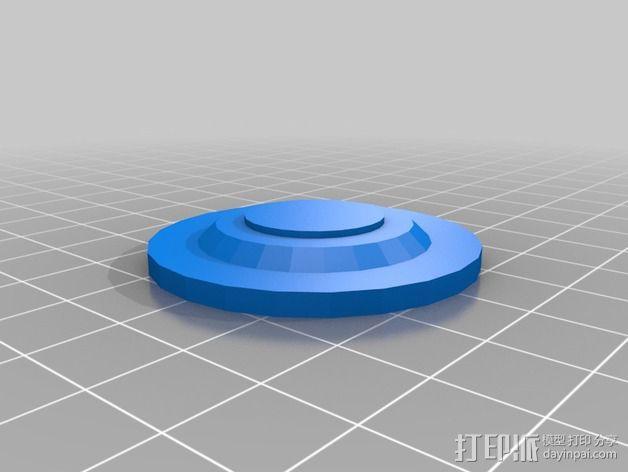深空九号飞船 3D模型  图15