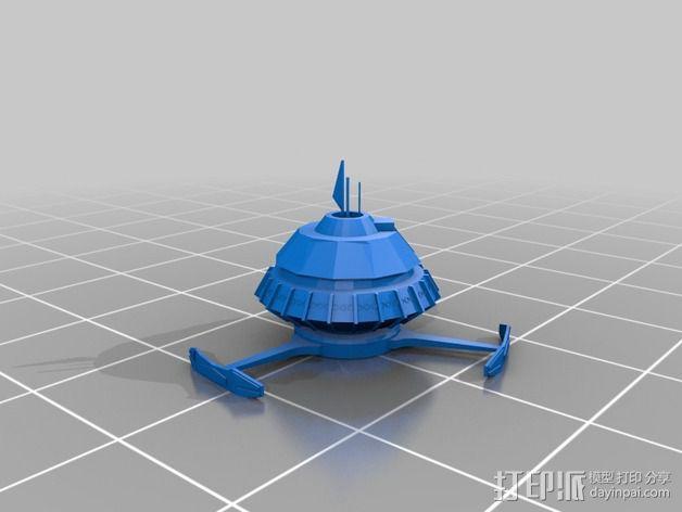 深空九号飞船 3D模型  图19