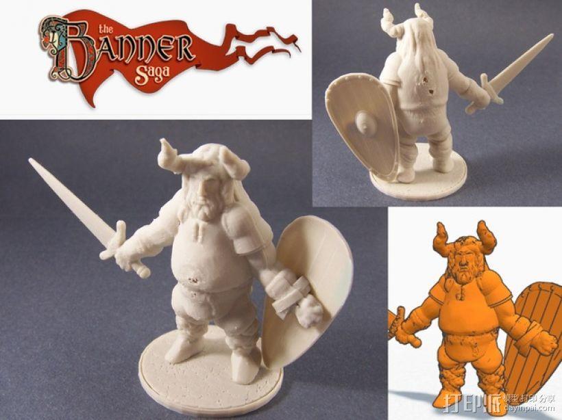 Varl Shieldbanger 游戏人物模型 3D模型  图1