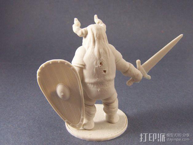 Varl Shieldbanger 游戏人物模型 3D模型  图3
