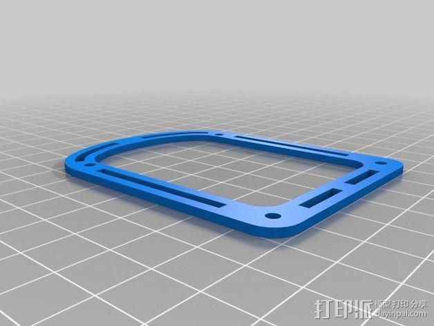 新艺术派房屋 饼干盒 3D模型  图13