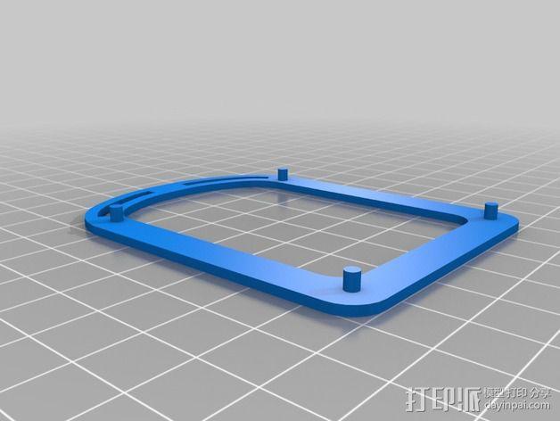 新艺术派房屋 饼干盒 3D模型  图15