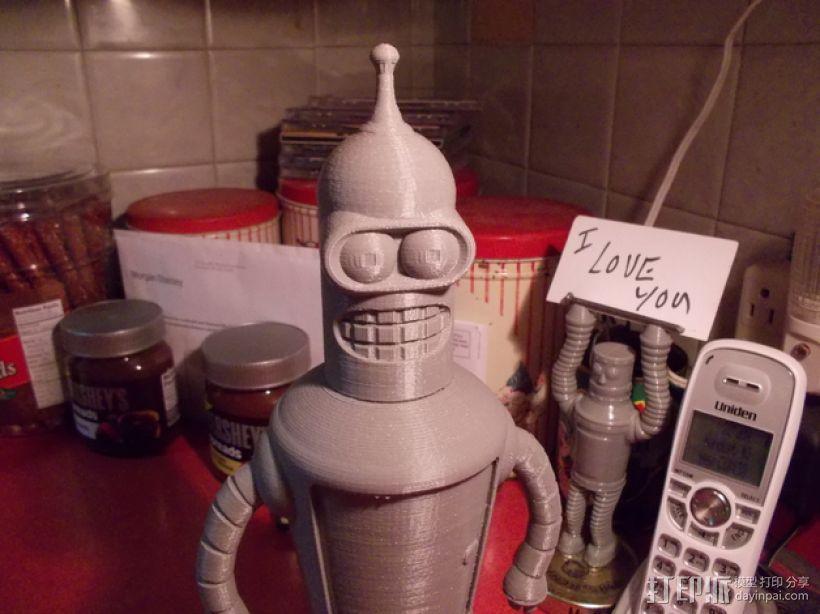 Bender机器人 3D模型  图1