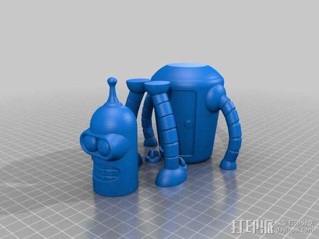 Bender机器人 3D模型  图7