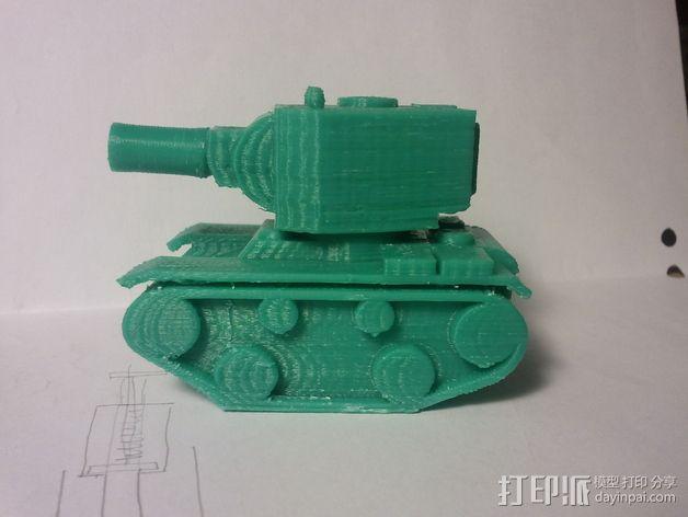 坦克模型 3D模型  图3