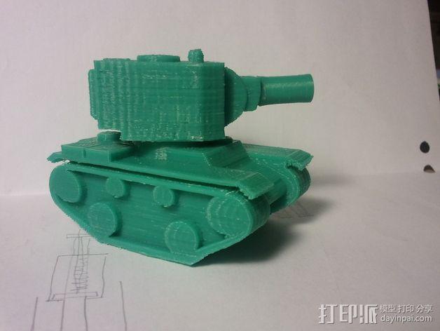 坦克模型 3D模型  图4