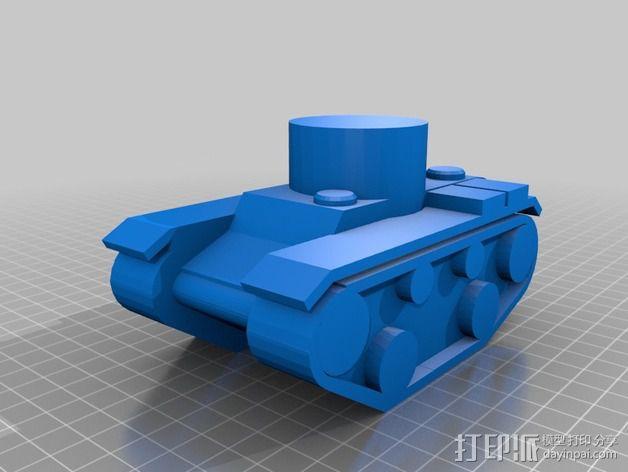坦克模型 3D模型  图7