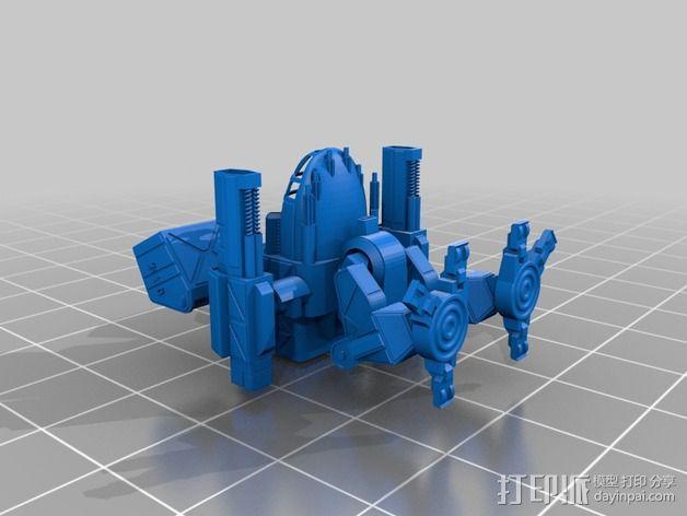 机甲战士 3D模型  图2