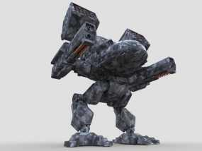 机甲战士 3D模型