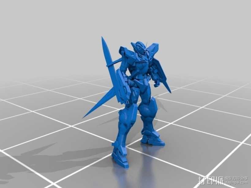 能天使高达 3D模型  图1