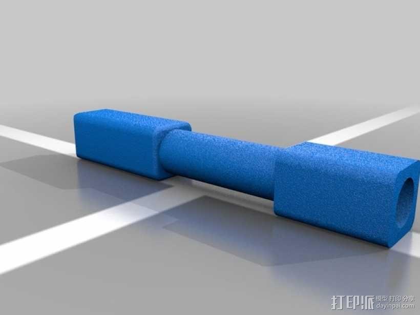 氪星人储能管 超人钥匙 3D模型  图3