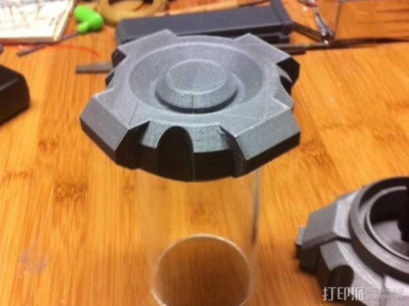 氪星人储能管 超人钥匙 3D模型  图5