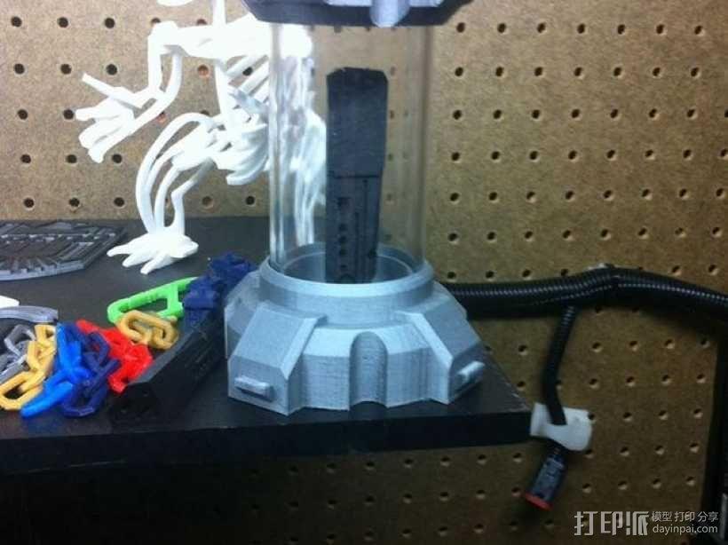 氪星人储能管 超人钥匙 3D模型  图6