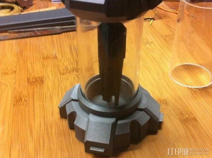 氪星人储能管 超人钥匙 3D模型  图4