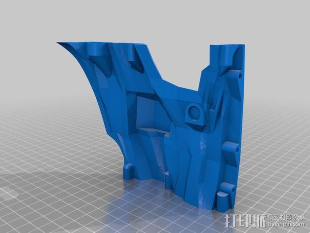 光晕4 头盔 3D模型  图15