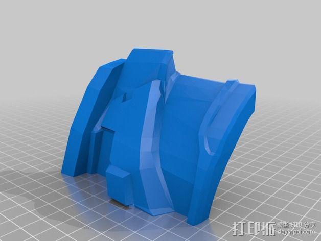 光晕4 头盔 3D模型  图17
