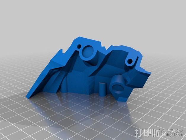光晕4 头盔 3D模型  图20