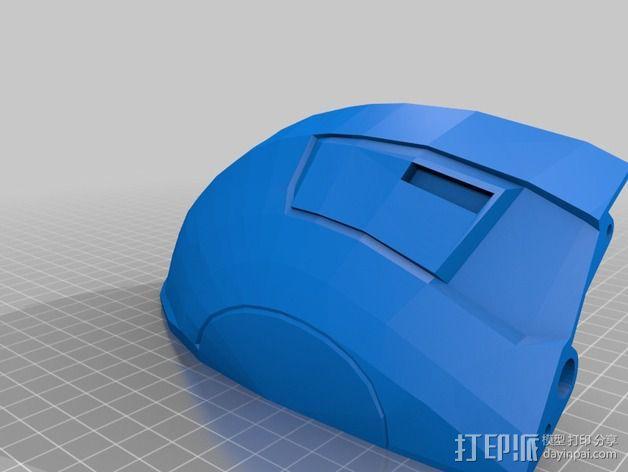 光晕4 头盔 3D模型  图22