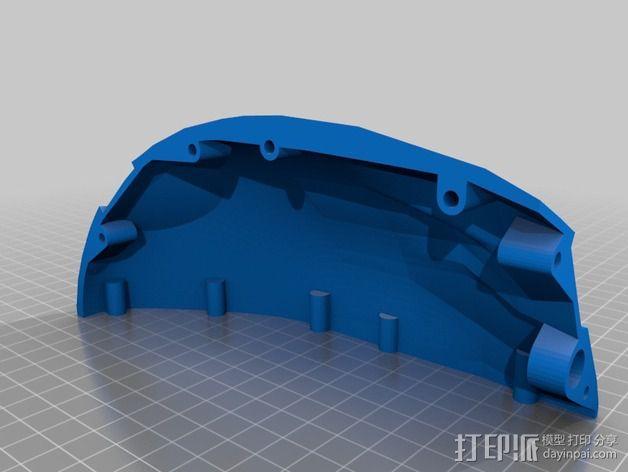 光晕4 头盔 3D模型  图23