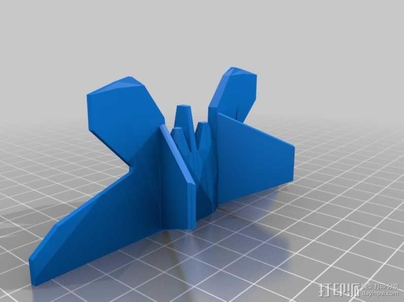 F22战斗机 3D模型  图3