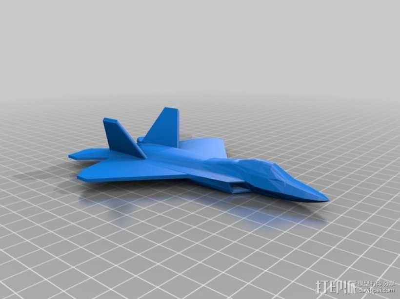 F22战斗机 3D模型  图2