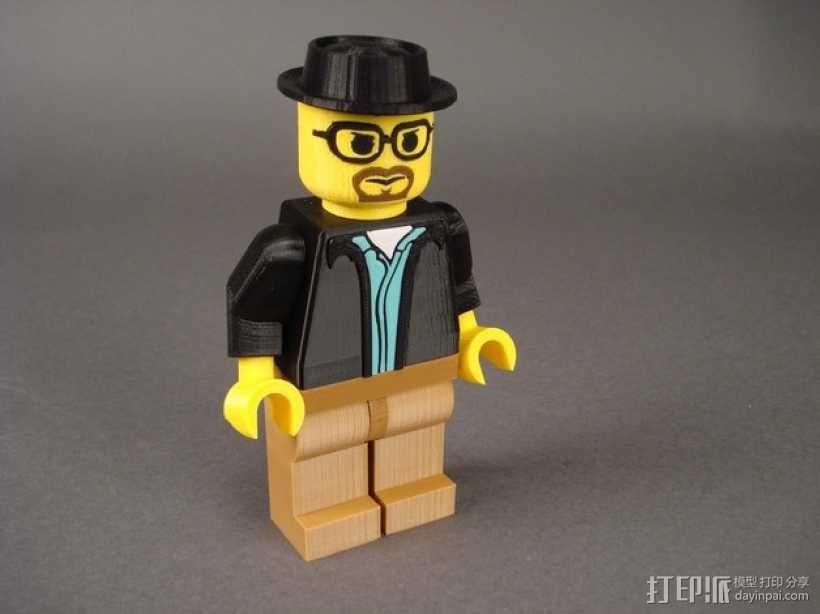Heisenberg玩偶 3D模型  图1