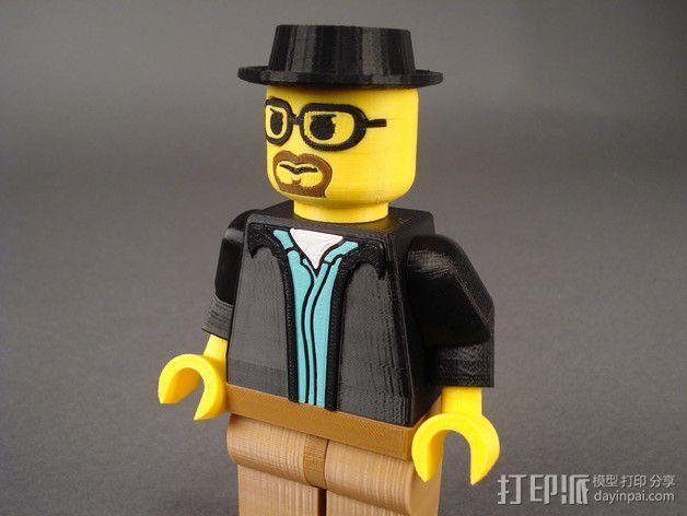 Heisenberg玩偶 3D模型  图6