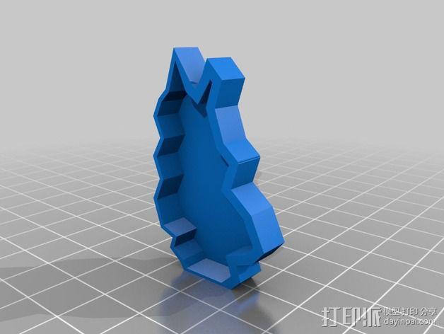 行尸走肉 僵尸 3D模型  图4