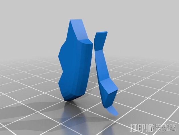 行尸走肉 僵尸 3D模型  图5