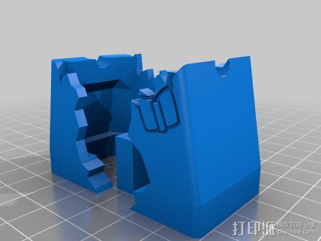 行尸走肉 僵尸 3D模型  图6