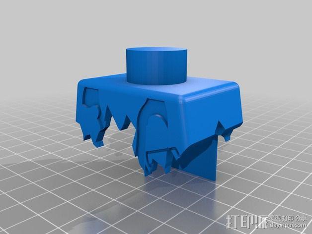 行尸走肉 僵尸 3D模型  图7