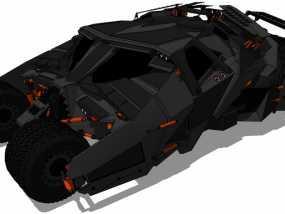 蝙蝠战车 3D模型